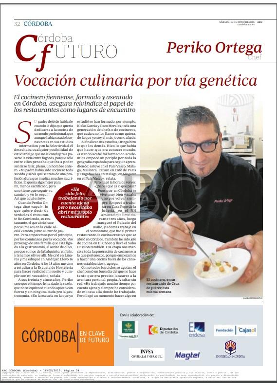 Vocación culinaria por vía genética